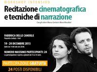 Workshop recitazione Marco Cortesi 2015