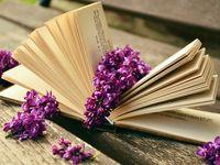 Libro con fiori